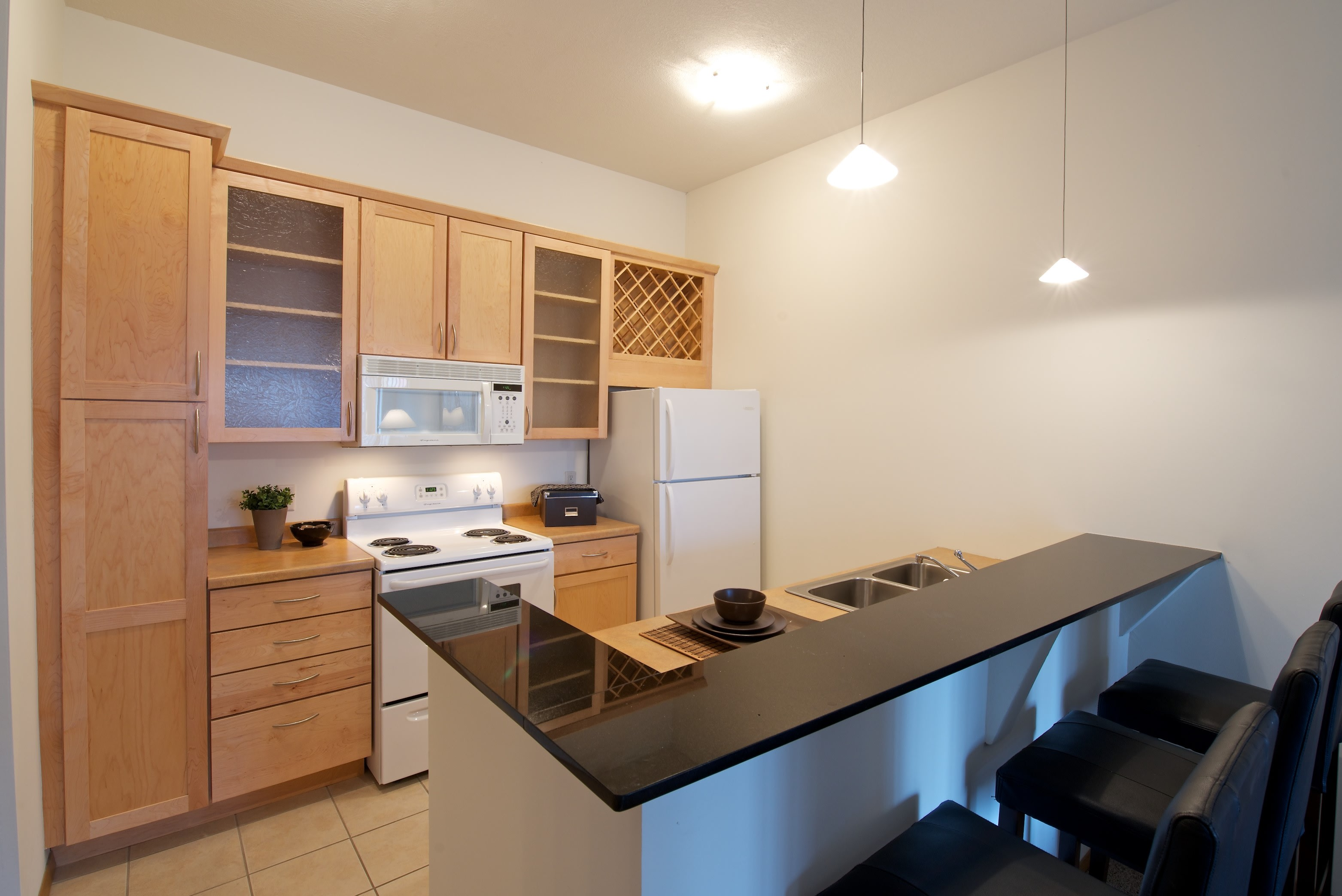 Mears Park Place Apartments in Saint Paul, MN Kitchen