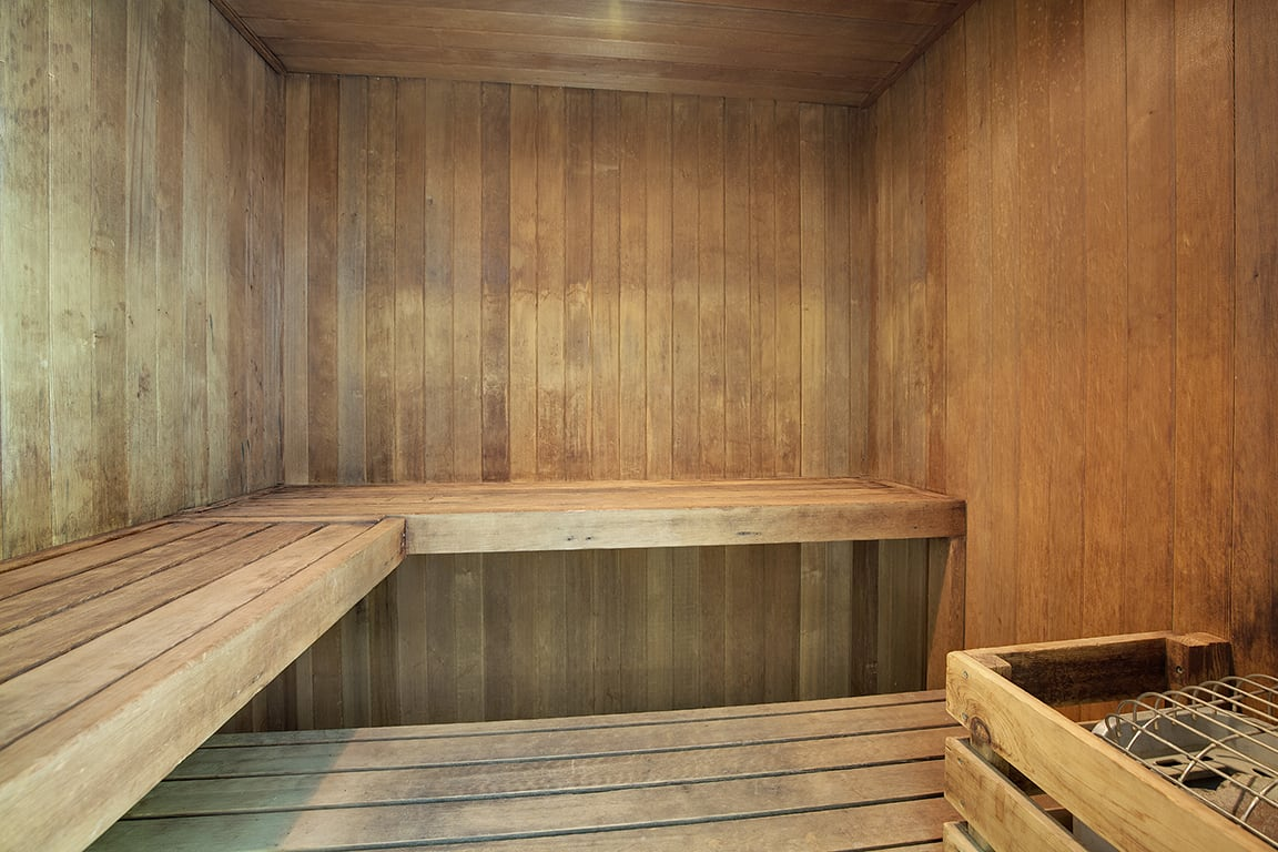 The Riverwood Apartments in Lilydale, MN Sauna