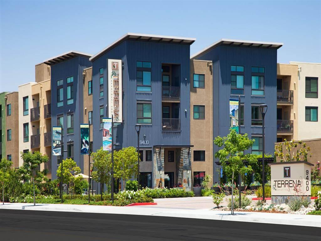 Exterior view at Terrena Apartments in Northridge, CA