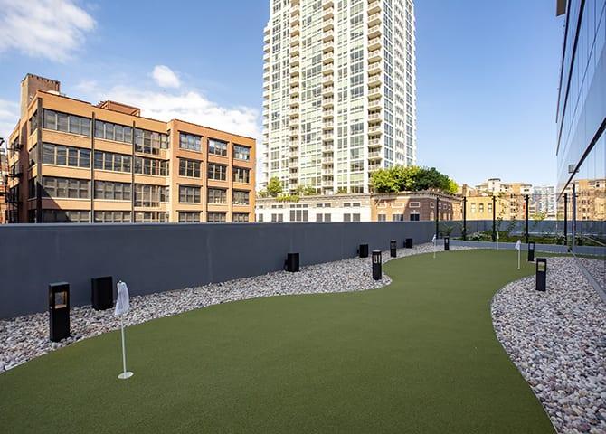 Mini Golf at 640 North Wells, Chicago