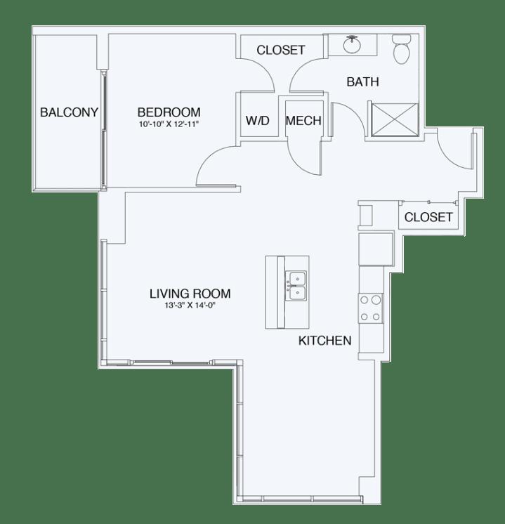 Floor Plan  A10, opens a dialog