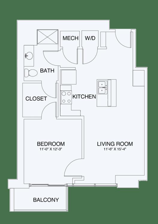 Floor Plan  A4, opens a dialog