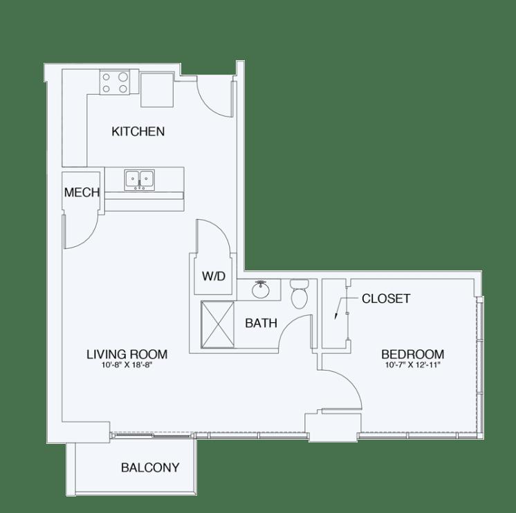Floor Plan  A8, opens a dialog