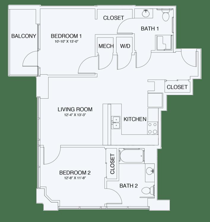 Floor Plan  B1A, opens a dialog