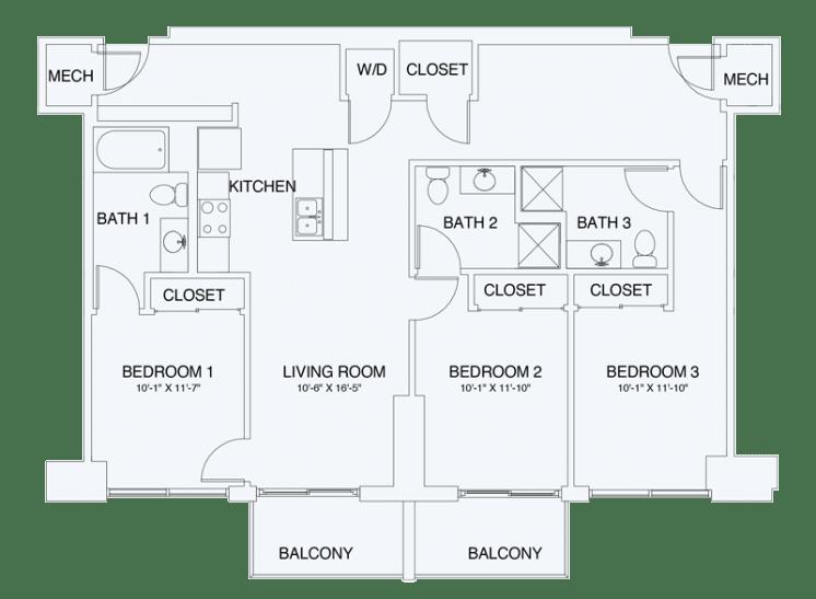 Floor Plan  C1, opens a dialog
