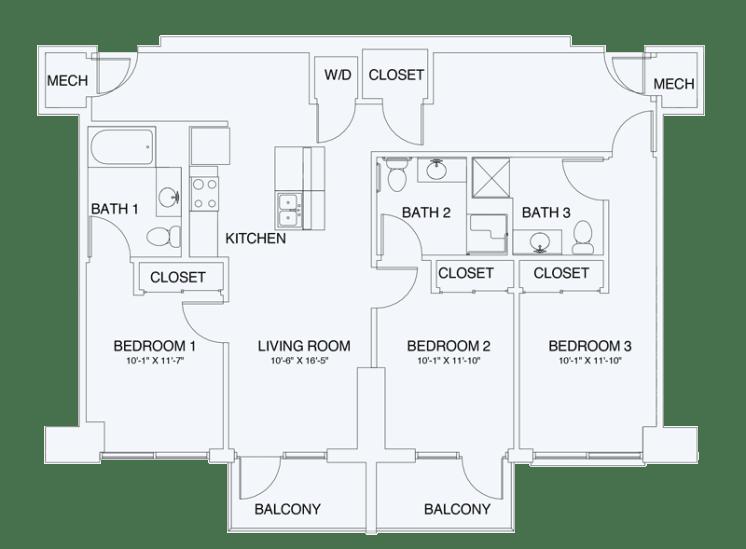 Floor Plan  C1A, opens a dialog