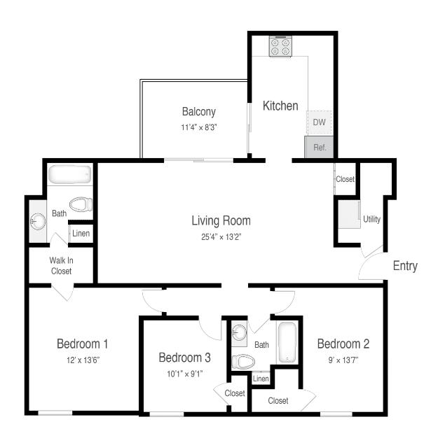 Floor Plan  3A - Classic, opens a dialog