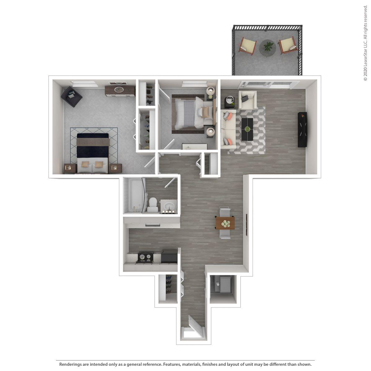 Floor Plan  2A-Renovated, opens a dialog