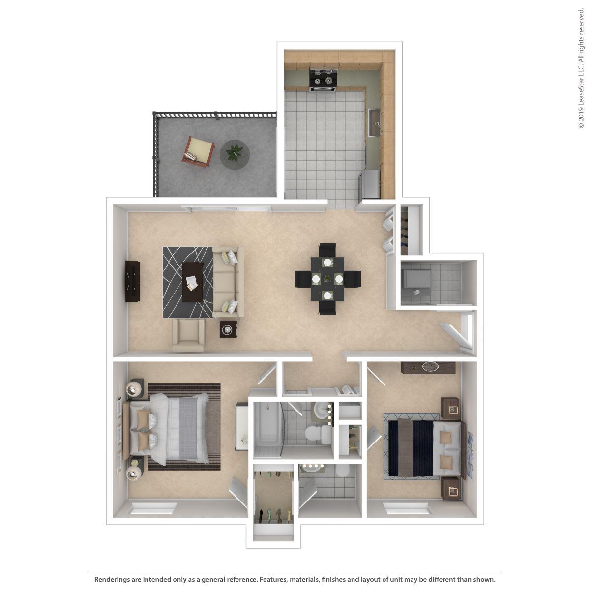 Floor Plan  2C -Classic, opens a dialog