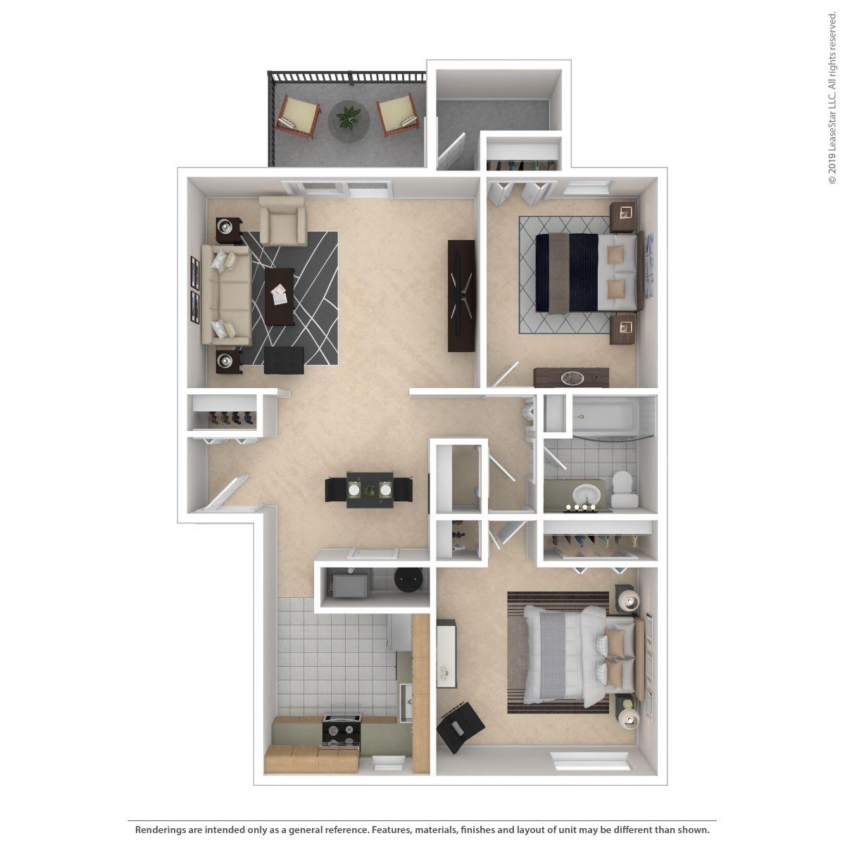 Floor Plan  2B -Classic, opens a dialog