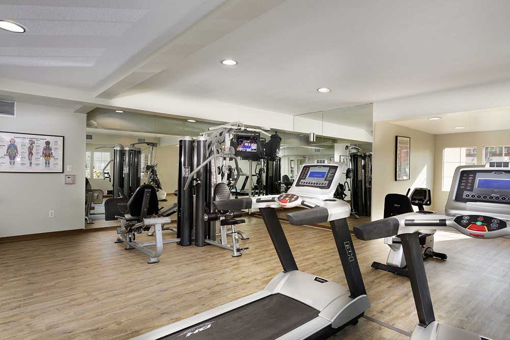 Professional-Grade Fitness Center at The Verandas Apartments, West Covina, CA