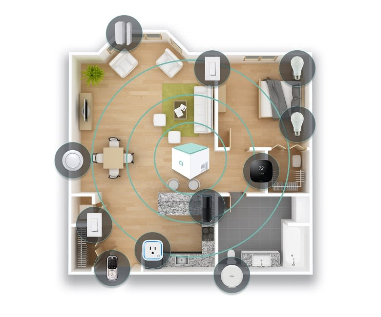 Floor Plan at The Casey