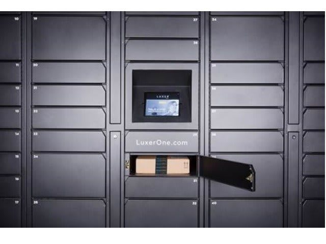24- HOUR LUXER ONE PACKAGE LOCKERS(1)