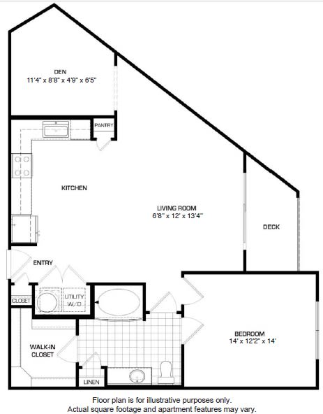 Floor Plan  Floorplan At Domain by Windsor,1755 Crescent Plaza, 77077, opens a dialog