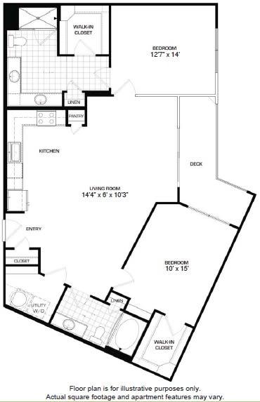 Floor Plan  Floorplan At Domain by Windsor, Houston, TX 77077, opens a dialog