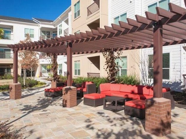 At Domain by Windsor,1755 Crescent Plaza, Houston, TX  Landscaped Green Areas and Courtyards