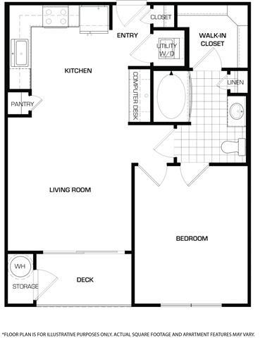 Floor Plan  Floorplan At Domain by Windsor,1755 Crescent Plaza, Houston,, opens a dialog