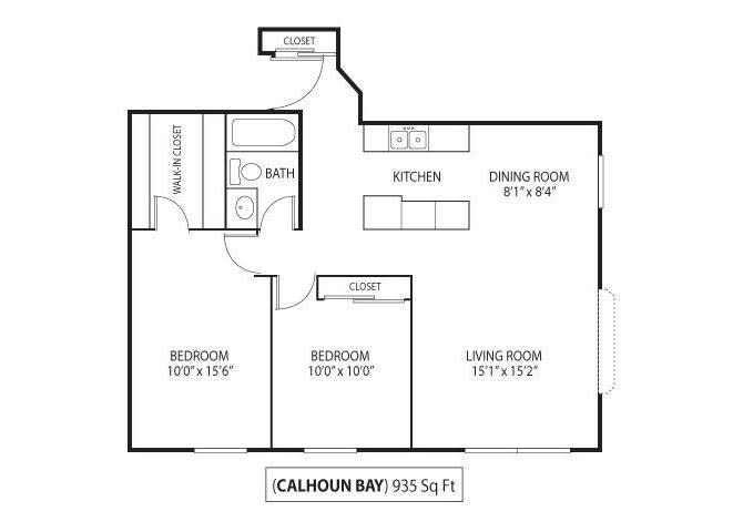 Floor Plan  Calhoun Bay, opens a dialog