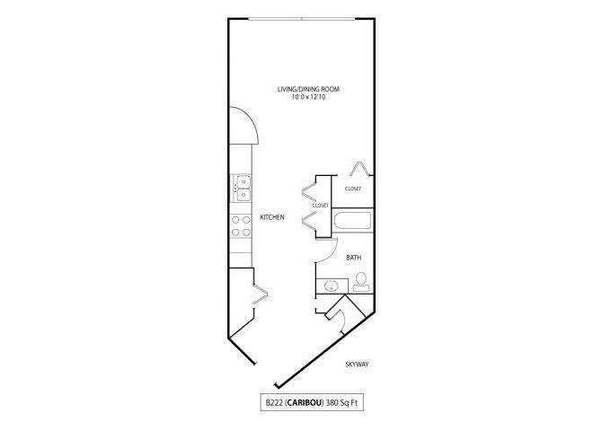 Floor Plan  Caribou Skyway, opens a dialog