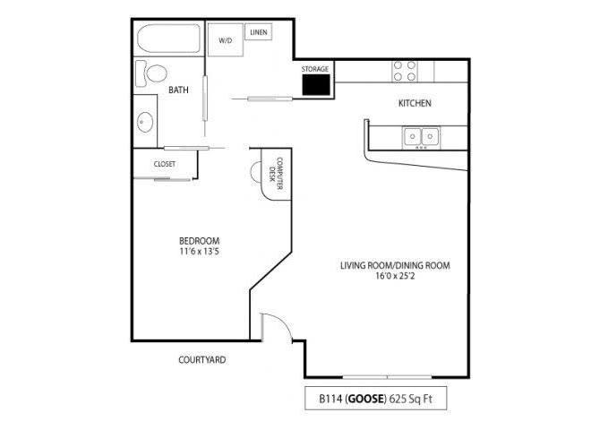 Floor Plan  Goose, opens a dialog