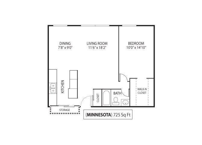 Floor Plan  Minnesota, opens a dialog
