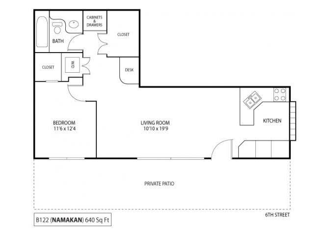 Floor Plan  Namakan, opens a dialog