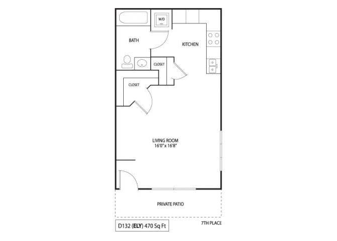 Floor Plan  Rush & Ely, opens a dialog
