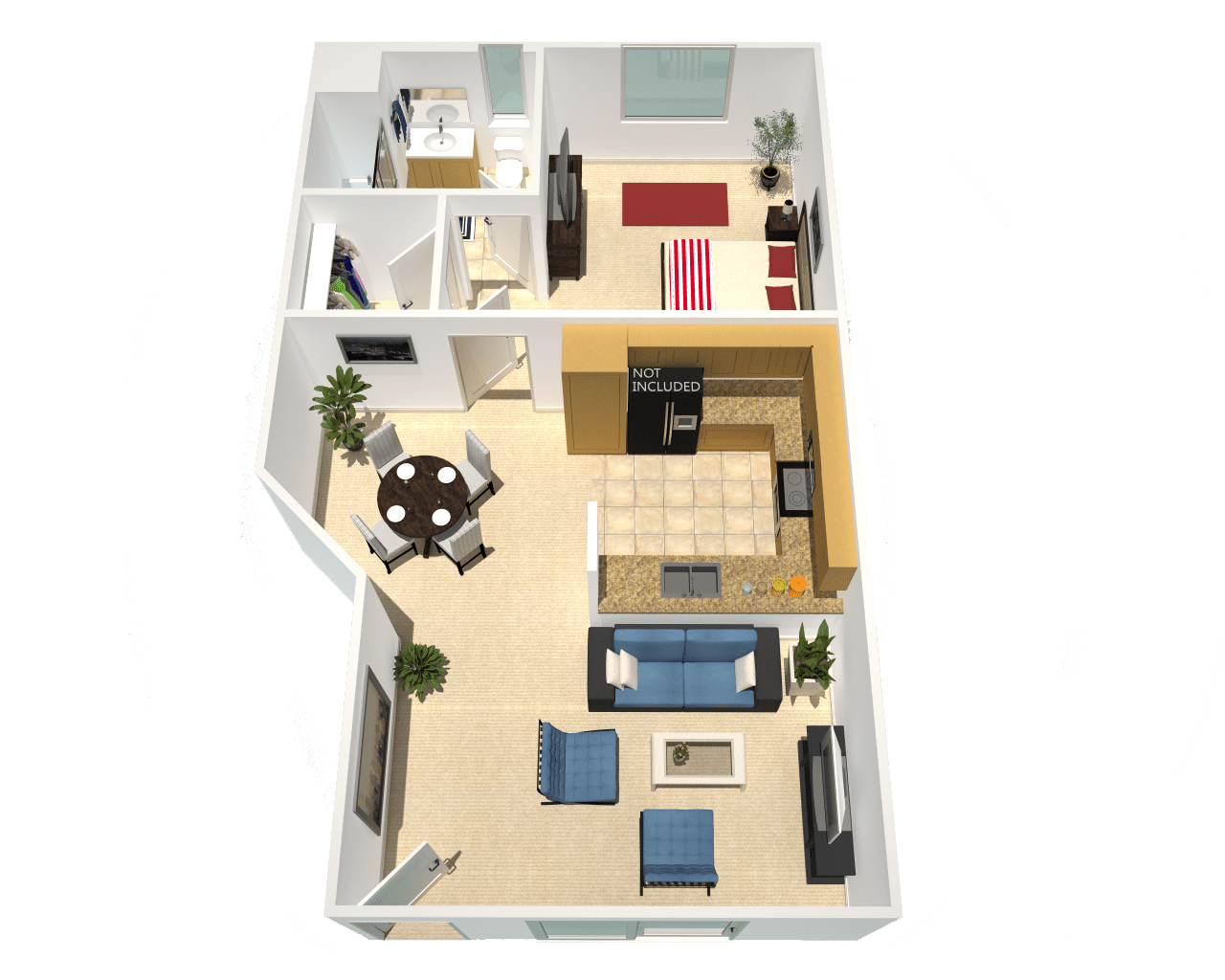 Floor Plan  newly remodeled