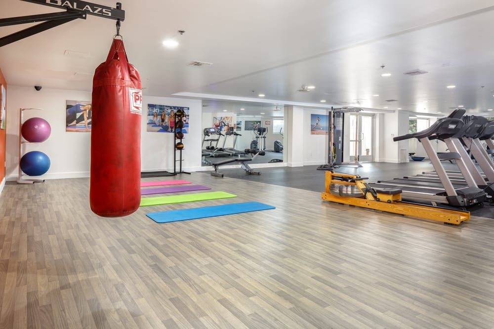 Yoga Room at The Social, North Hollywood, California