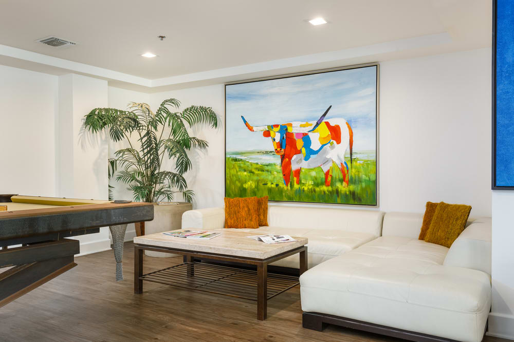 Beautifully Remodeled Clubhouse at The Social, North Hollywood, CA, 91601