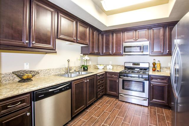 All Electric Kitchen at Le Blanc Apartment Homes, California, 91304