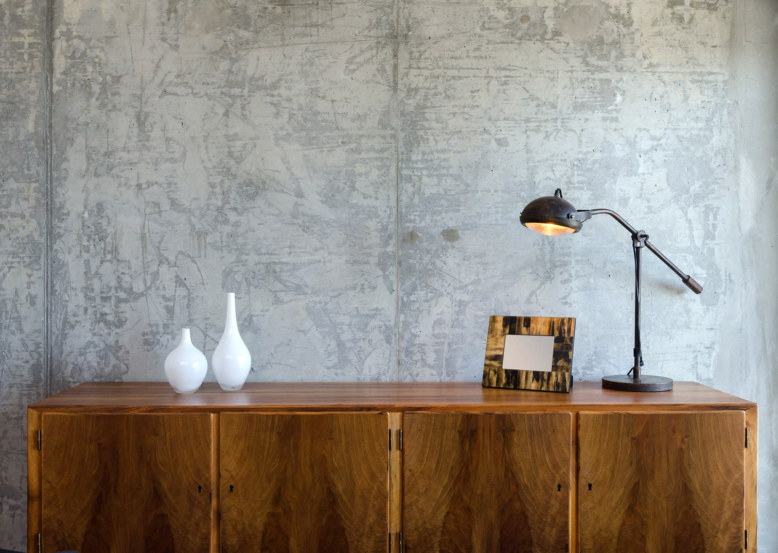 Chic Concrete Walls and Accents at 1600 Vine Apartment Homes, Hollywood, CA