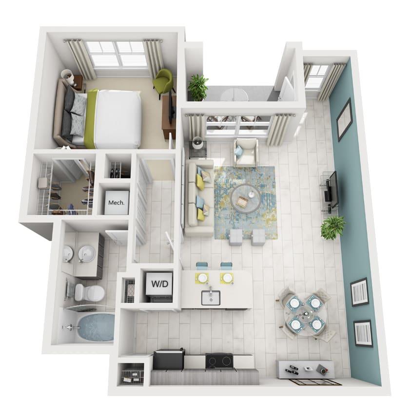 Floor Plan  Allegre