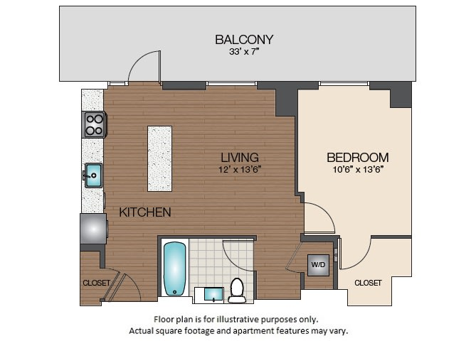 Floor Plan  A3b Floorplan at The Victor, opens a dialog