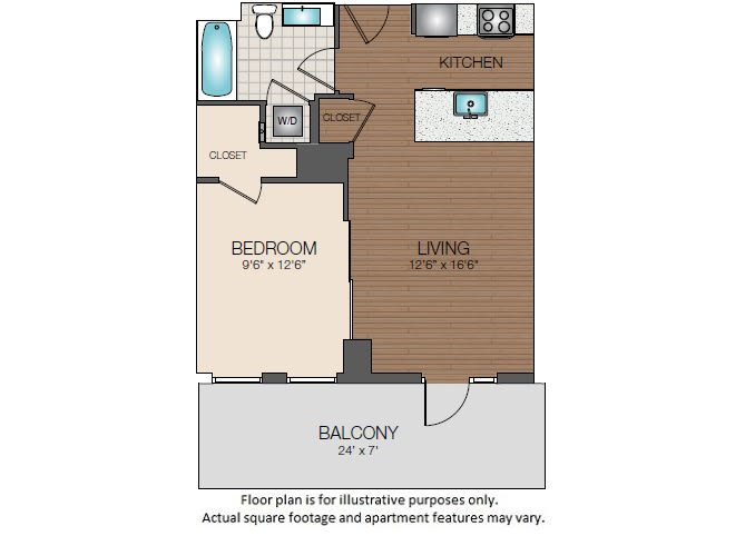 Floor Plan  S1e Floorplan at The Victor, opens a dialog