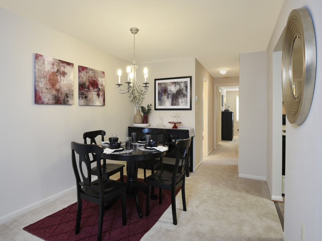 Elegant Dining Room at Cromwell Valley Apartments, Maryland