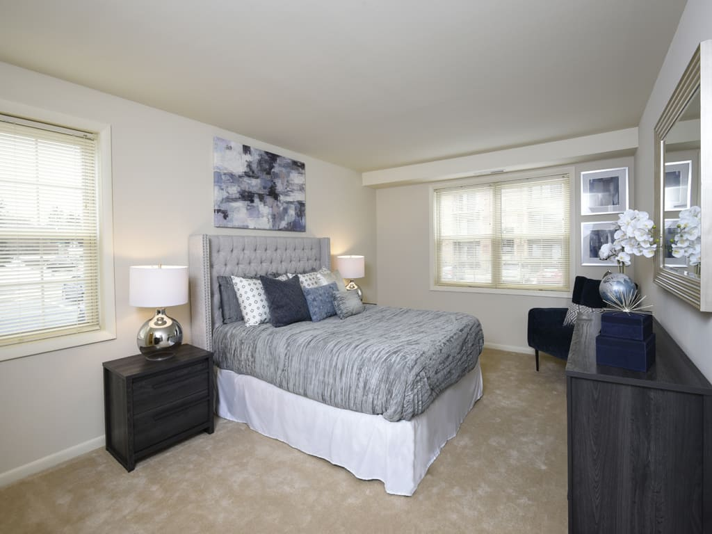Comfortable Bedroom at Cromwell Valley Apartments, Towson, 21286