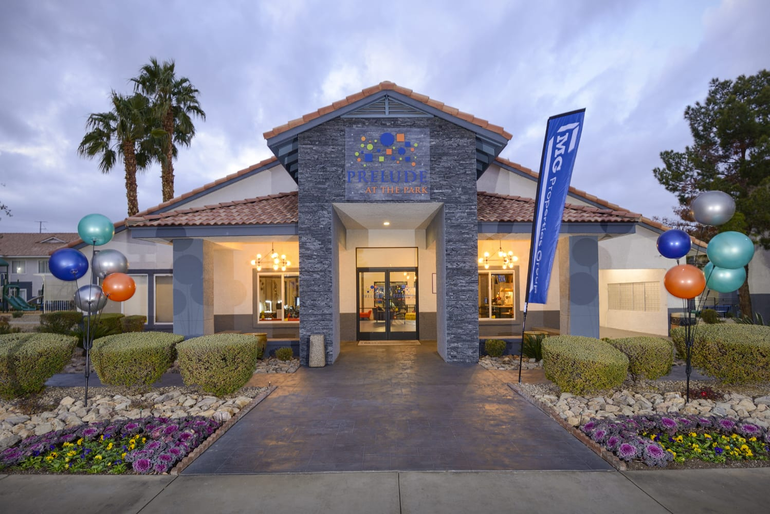 Modern Yet Classic Design at Prelude at the Park, Henderson, NV