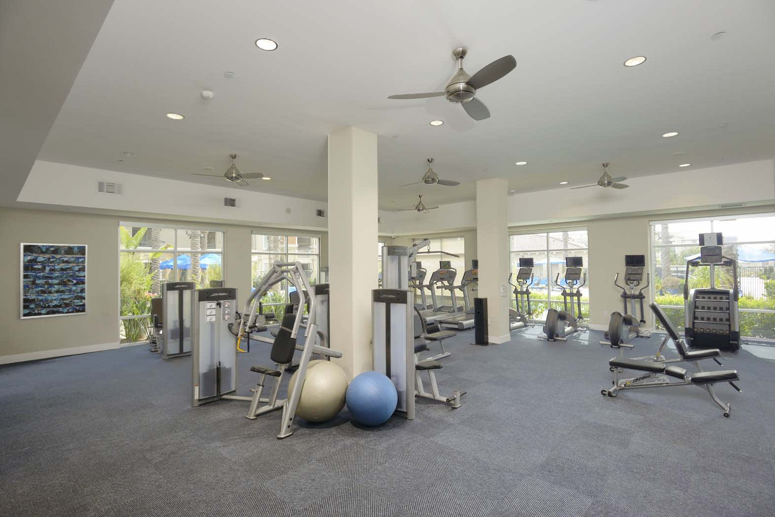 Fitness Center at Preserve at Melrose, Vista, CA