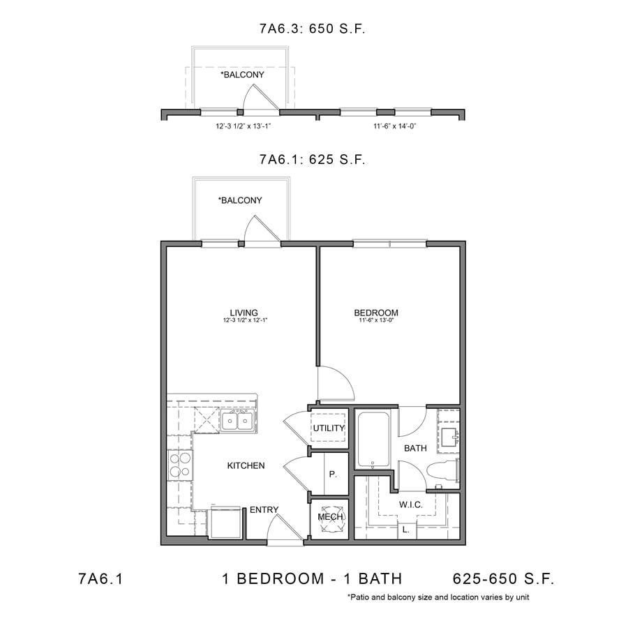 Floor Plan  7A6.1