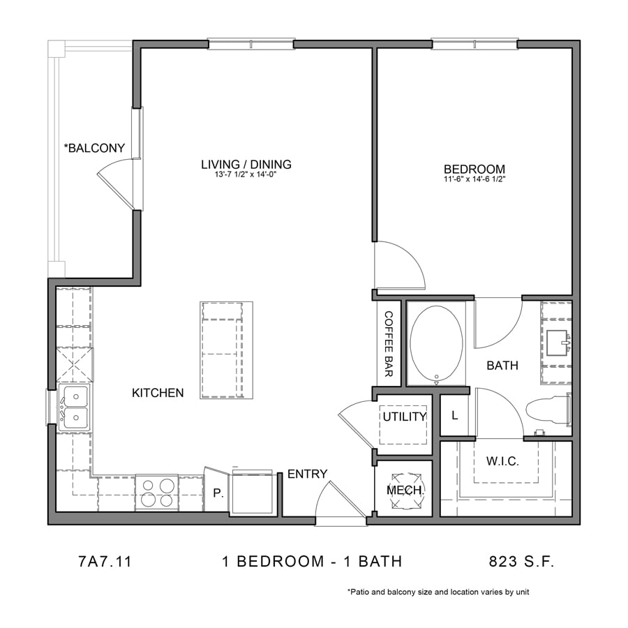 Floor Plan  7A7.11