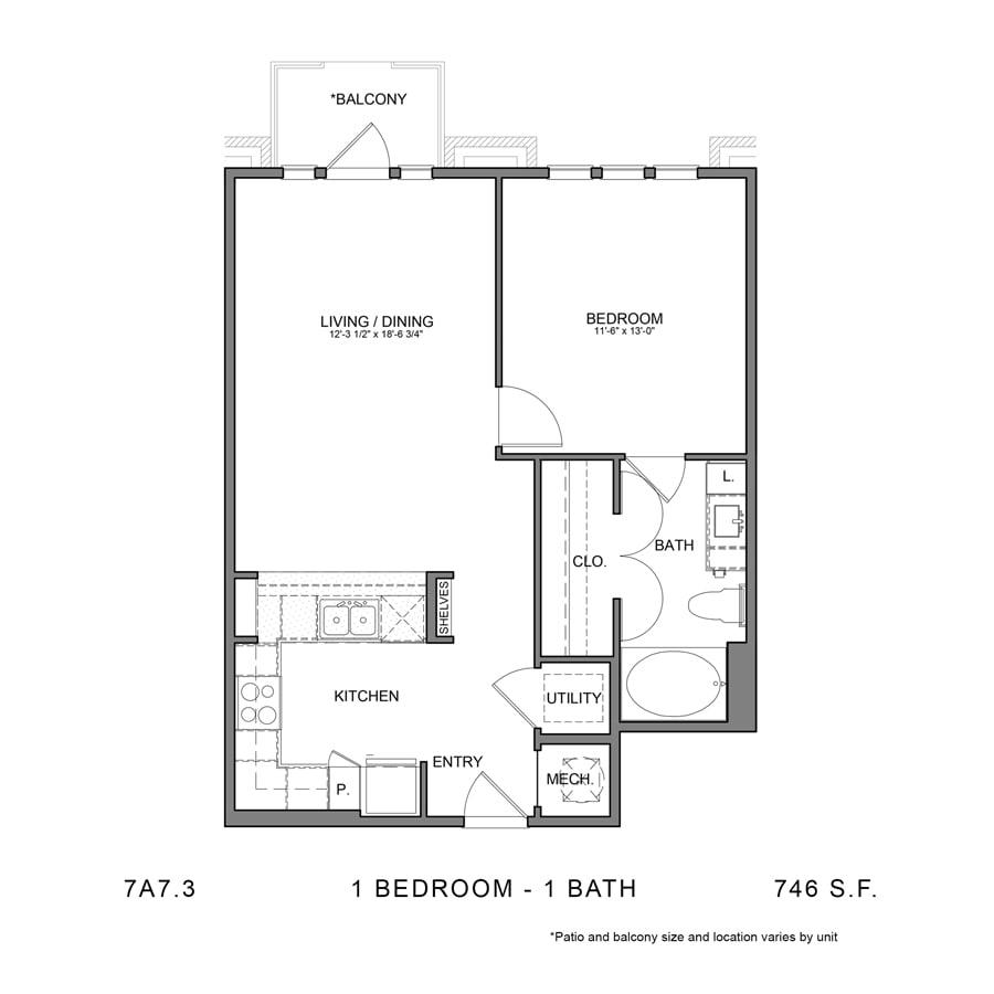 Floor Plan  7A7.3