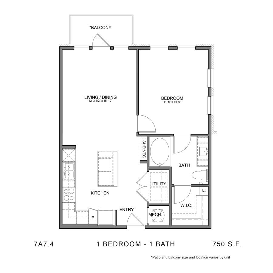 Floor Plan  7A7.4