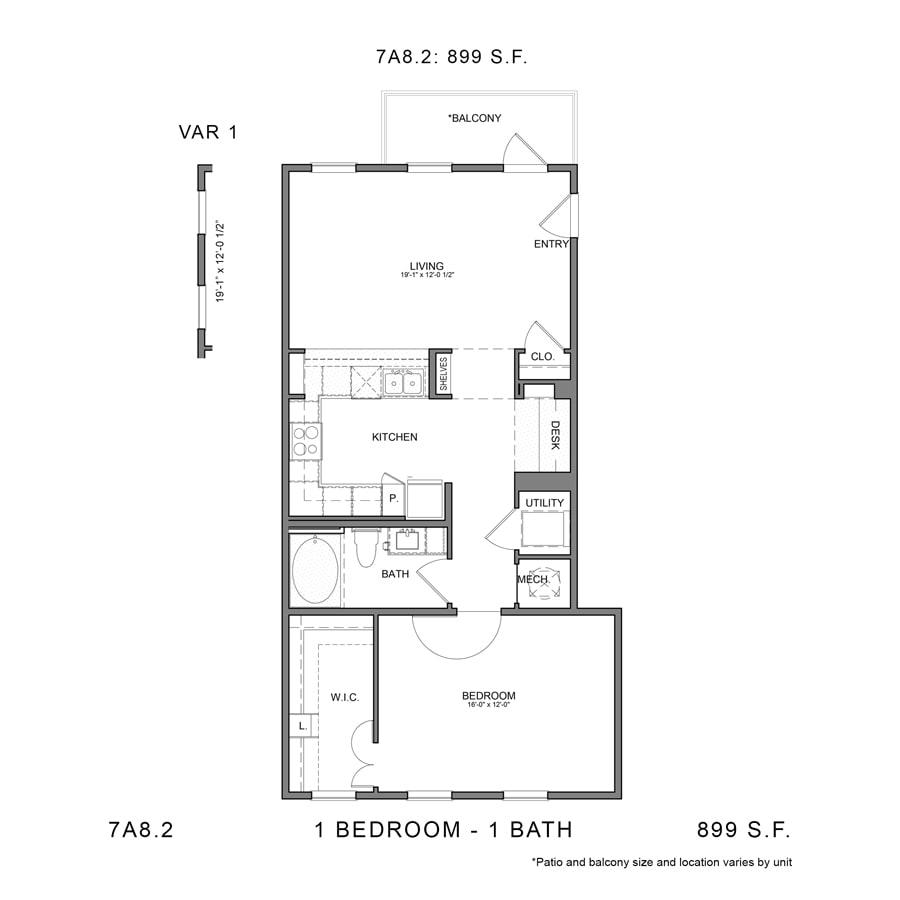 Floor Plan  7A8.2