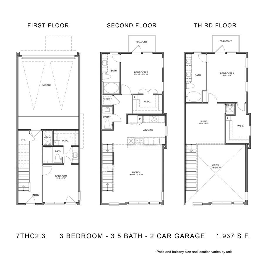 Floor Plan  7THCGG2.3