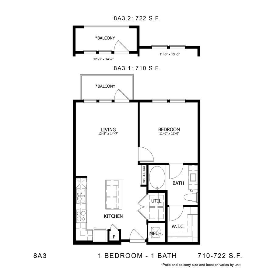 Floor Plan  8A3