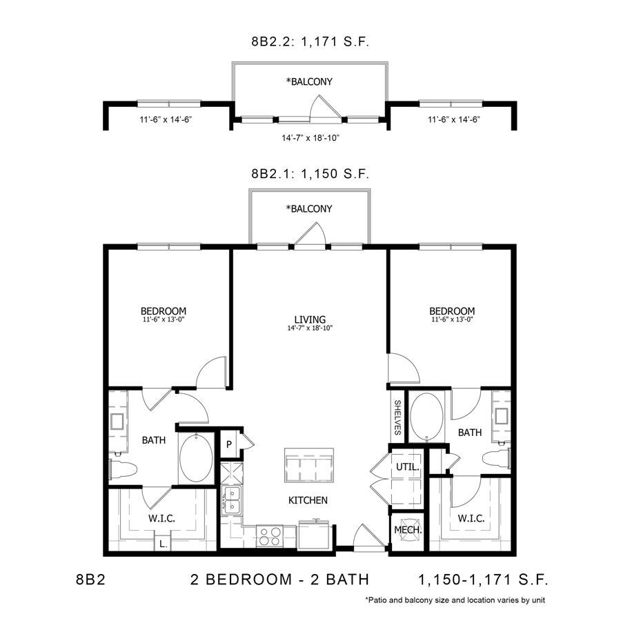 Floor Plan  8B2