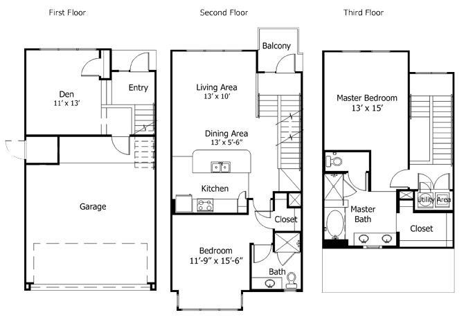 Floor Plan  5THB2
