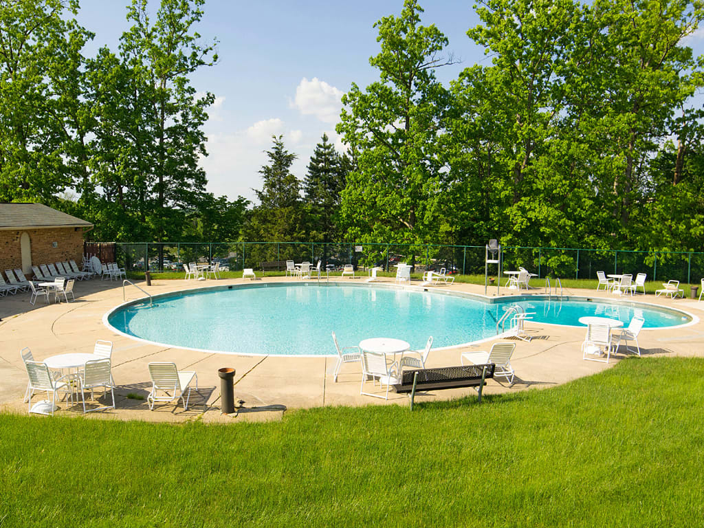 Swimming pool at Security Park Apartments