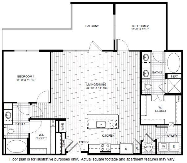 Floor Plan  B3-1 Floor Plan at Windsor CityLine, opens a dialog